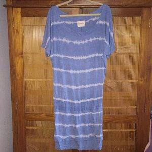 Gypsy 05 NWT Tie Dye Drop elastic waist Dress Med